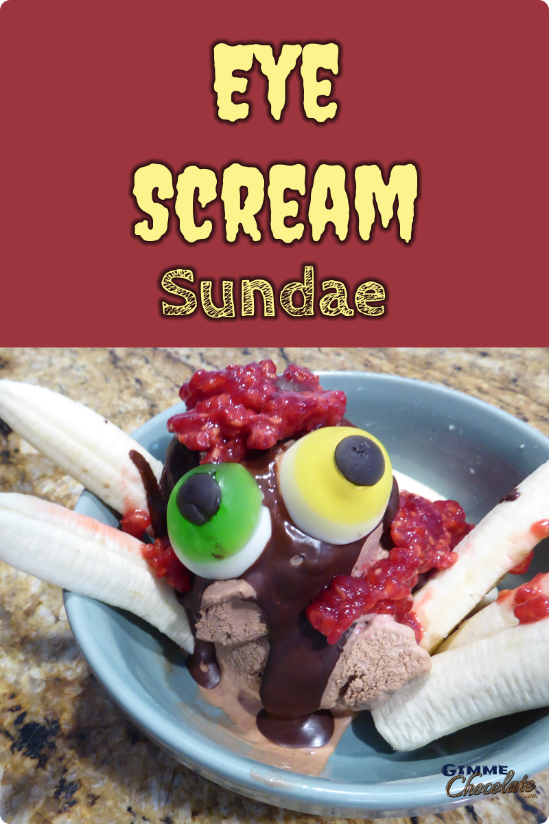 eye scream sundae