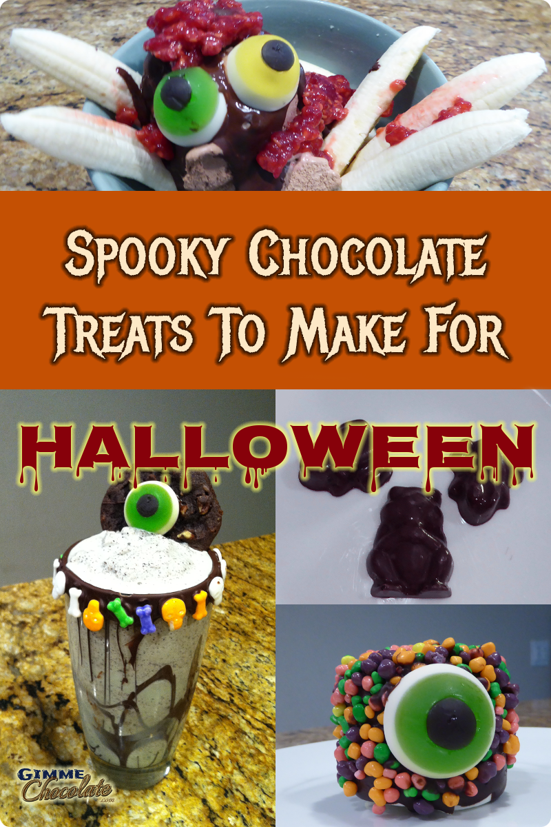 Spooky chocolate treats to make for Halloween