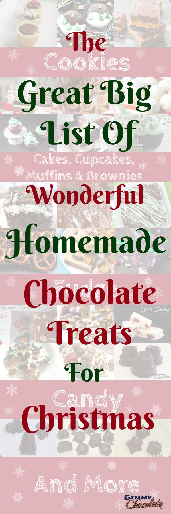 The Great Big List Of Wonderful Homemade Chocolate Treats For Christmas