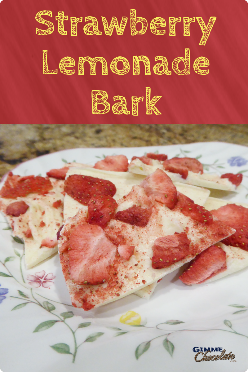 Strawberry Lemonade Bark