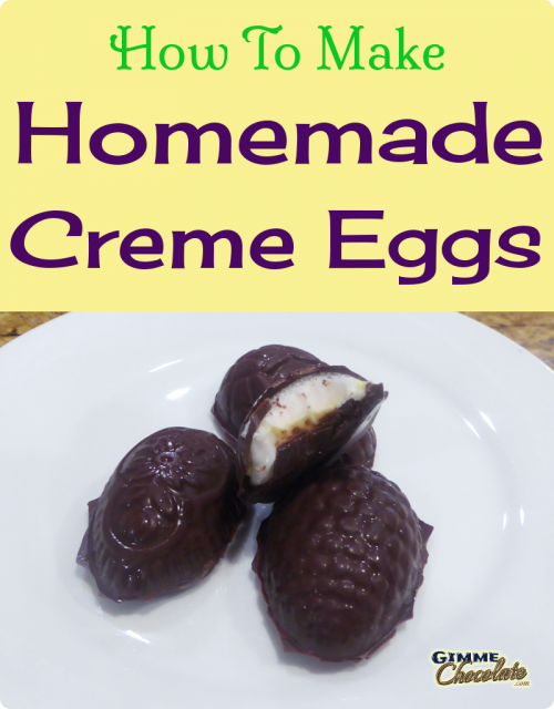 How To Make Homemade Creme Eggs
